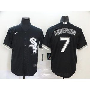 Chicago White Sox Tim Anderson Black Jersey